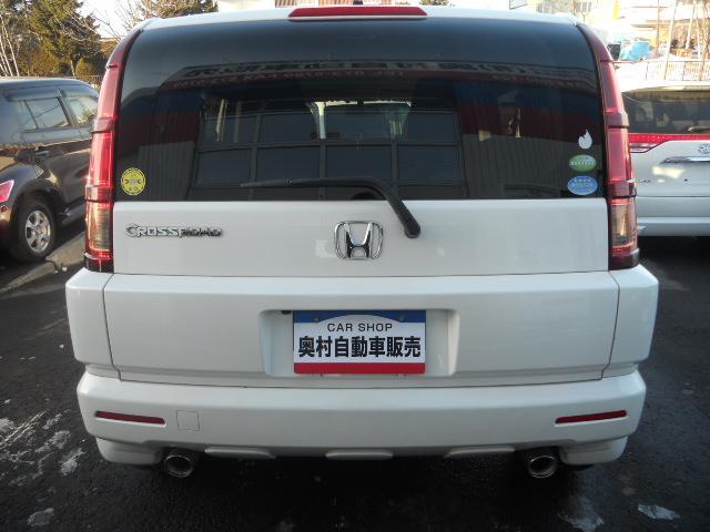 ホンダ クロスロード 20X4WD本州車両純正ナビTV地デジフルセグ