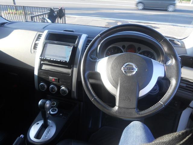 日産 エクストレイル 20X 4WD 本州車両 純正ナビ 地デジチューナー
