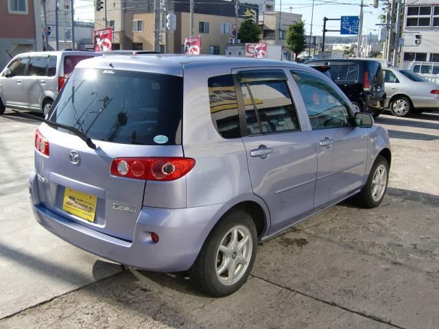 「マツダ」「デミオ」「コンパクトカー」「北海道」の中古車3