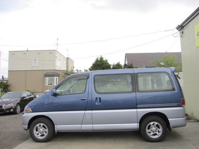 「トヨタ」「レジアス」「ミニバン・ワンボックス」「北海道」の中古車5