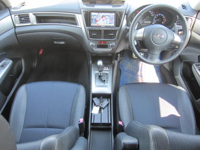 2.5i-S 4WD ワンオーナー HDDナビ 地デジテレビ リアモニター DVD再生 バックカメラ スマートキー プッシュスタート スマートキー ETC ウインカーミラー アルミホイール(10枚目)