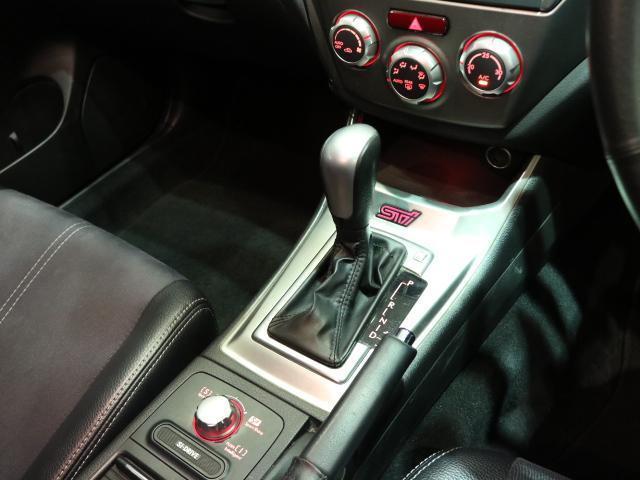 スバル インプレッサ WRX STI Aライン ハーフレザーシート スマートキー