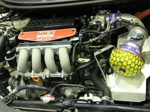 ホンダ CR-Z α レイズ18インチ インパルスマフラー HKSエアクリ