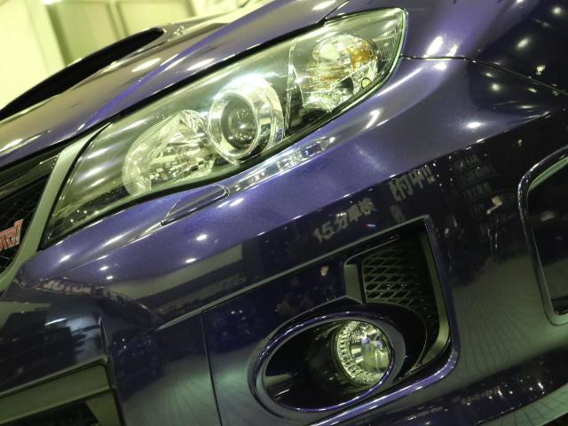 スバル インプレッサ WRX STi フジツボマフラー スペックC18インチAW