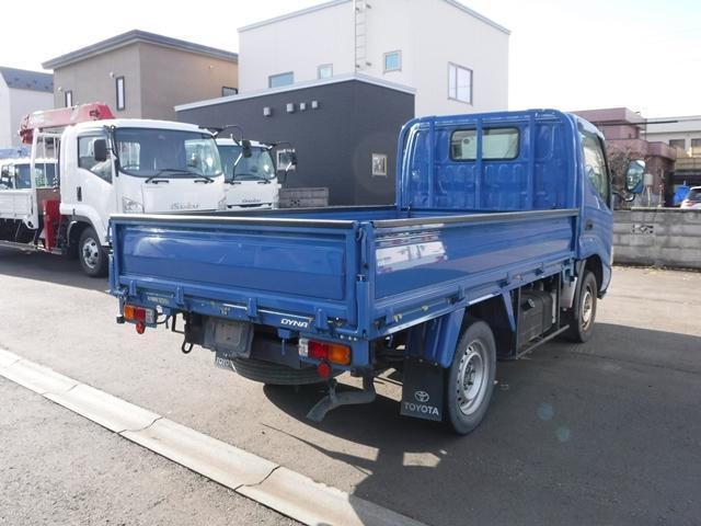1.5t 平ボディ 4WD リアシングルタイヤ(6枚目)