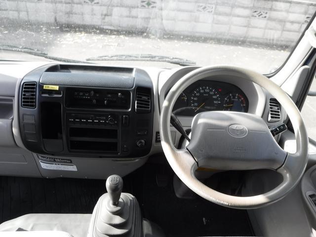 1.5t 平ボディ 4WD リアシングルタイヤ(15枚目)