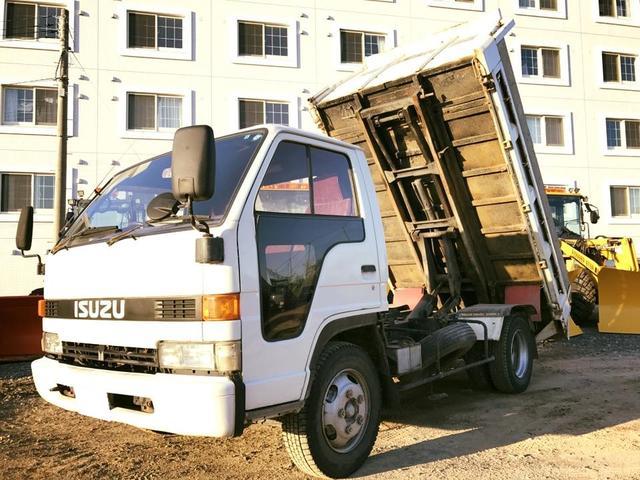 いすゞ エルフトラック ローダーダンプ