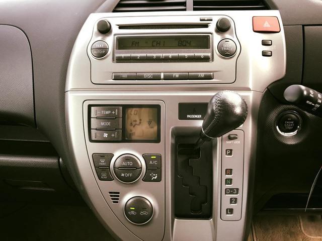 トヨタ ラクティス G Lパッケージ 4WD プッシュスタート スマートキー