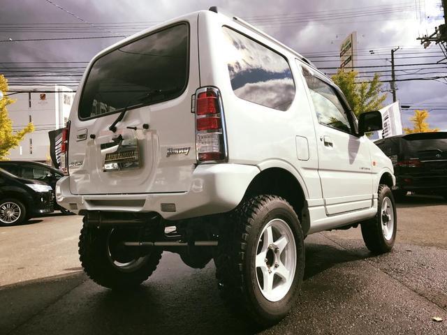 スズキ ジムニー ランドベンチャー 4WD ターボ リフトUP 社外AW