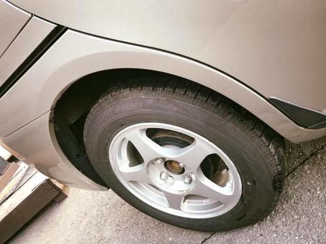 トヨタ ラウム CパッケージNEOエディション 4WD パワスラ 積込タイヤ