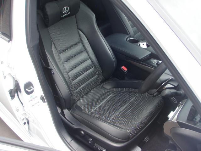 レクサス IS IS300h Fスポーツ 専用黒本革 PCS AIS鑑定車