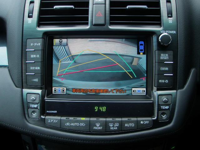 ハンドル連動ガイド線付きBカメラ♪写りも良く車庫入れや狭い場所でも確認できます♪MOPクリアランスソナー!F&R計8か所!距離&音表示♪MOP!インテリジェントパーキングアシスト付き!半自動駐車可能♪