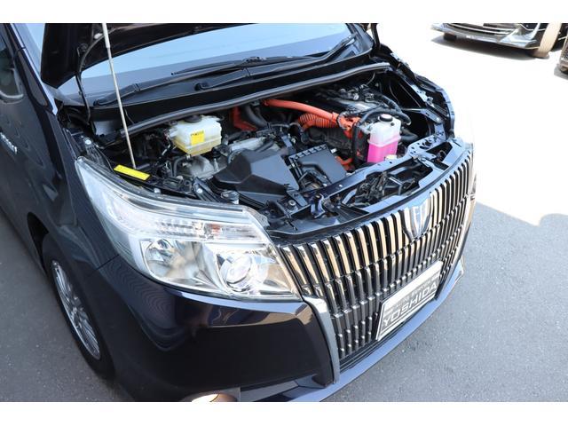 モーターのみで静かに走行可能。EVモードではモーターのみで静かに走行可能。早朝や深夜にエンジン音を気にしなくてすみます♪