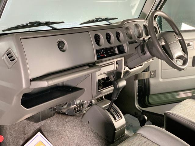 ランドベンチャー 3インチリフトアップ/下回りノックスドール防錆施工/社外前後パイプバンパー/MTタイヤ185・85R16(13枚目)