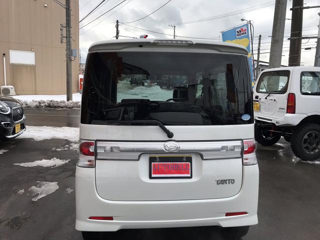 ダイハツ タント カスタムX 4WD