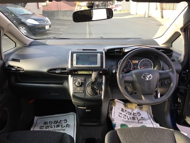 トヨタ ウィッシュ 1.8X 純正SDナビ フルセグTV 純正EGスターター