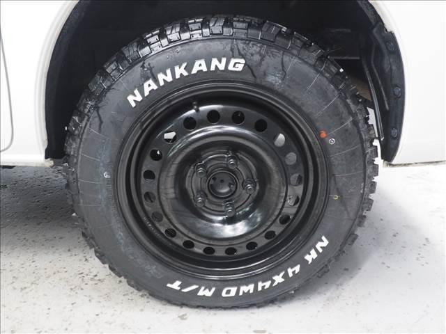 GL 4WD リフトアップ デフロック 新品マッドタイヤ スチールホイール 内装マークルオリジナルシートカバー(8枚目)
