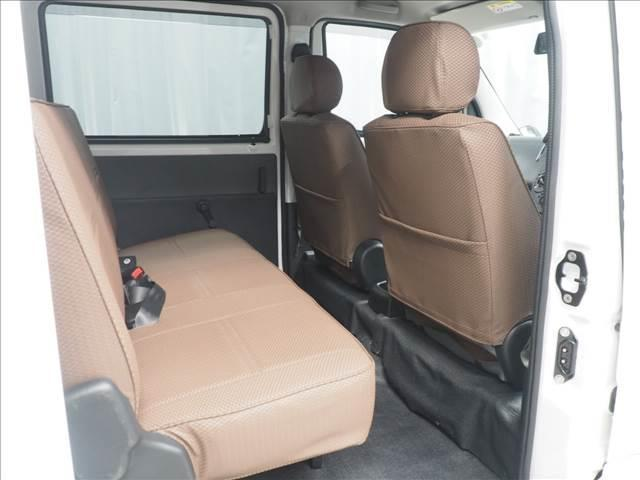 GL 4WD リフトアップ デフロック 新品マッドタイヤ スチールホイール 内装マークルオリジナルシートカバー(18枚目)