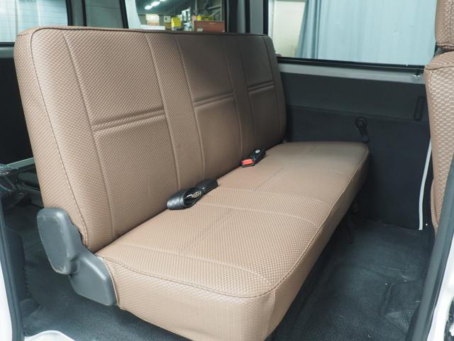 GL 4WD リフトアップ デフロック 新品マッドタイヤ スチールホイール 内装マークルオリジナルシートカバー(22枚目)