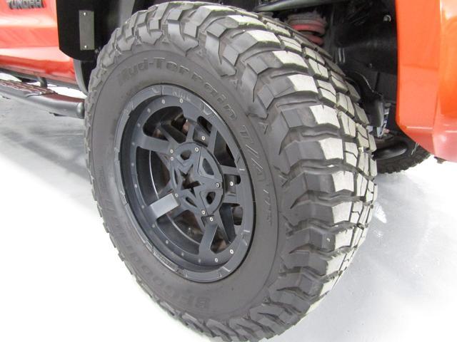 クルーマックス 4WD TRDPRO ラフカントリー6インチUP ハードシェル TRD専用マフラー TRD専用シート グッドリッチMTタイヤ KMC20インチアルミ LEDヘッドライト LEDテールライト サイドステップ 走行証明有(21枚目)