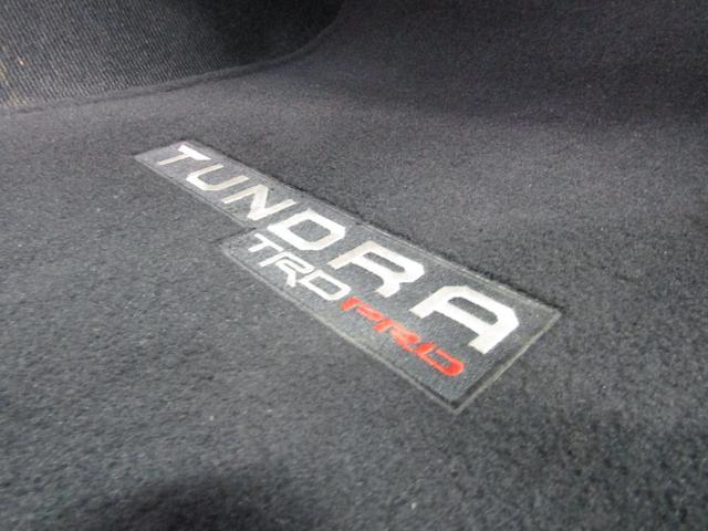 クルーマックス 4WD TRDPRO ラフカントリー6インチUP ハードシェル TRD専用マフラー TRD専用シート グッドリッチMTタイヤ KMC20インチアルミ LEDヘッドライト LEDテールライト サイドステップ 走行証明有(45枚目)