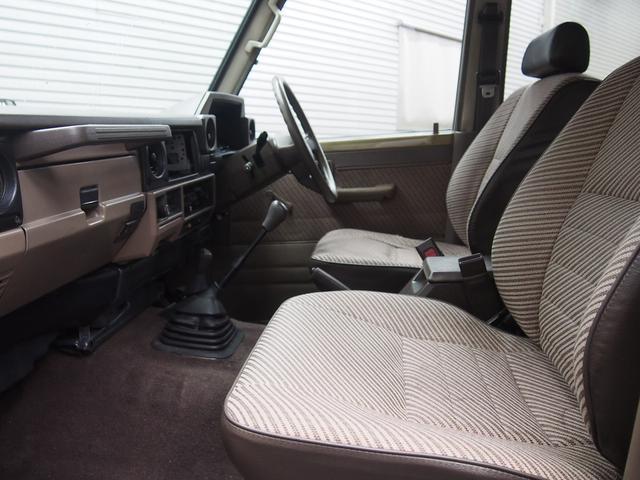 トヨタ ランドクルーザー70 LX リフトアップ 5速マニュアル 全塗装