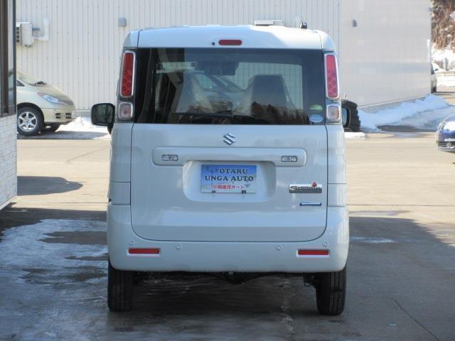 ハイブリッドG 4WD 車検R6年2月1日迄  Aストップ ヒートシーター 衝突被害軽減ブレーキ 横滑り防止装置 寒冷地仕様 スマートキー(3枚目)