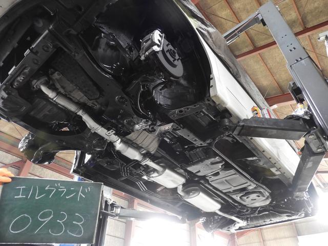 【さび対策】車の大敵はサビ。78オートでは全車入庫時に錆の状況をしっかり確認し、長い目で見て異常をきたさないと判断したもののみを販売しております。また、画像の通り全車下回りコーティングを施工しています