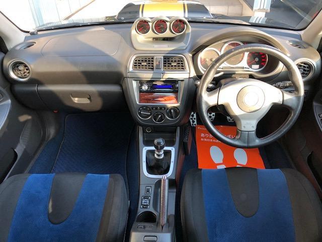スバル インプレッサ WRX STi ゴールドストライプ仕様 サイレントマフラー