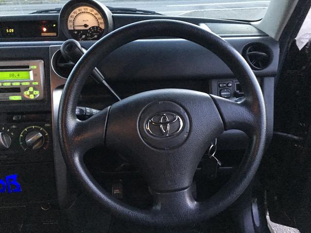 トヨタ bB S Wバージョン 4WD エンスタ スタッドレス ダウンサス
