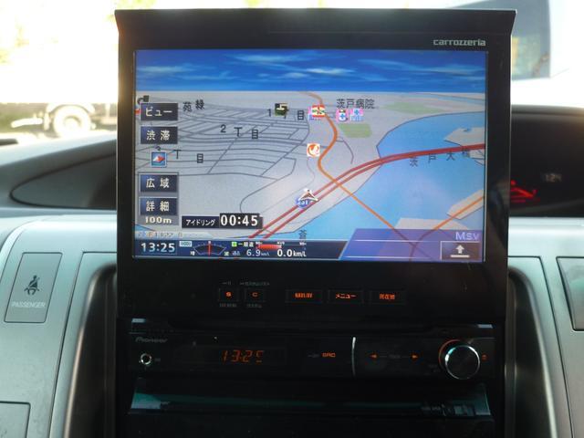 トヨタ エスティマ アエラス Sパッケージ 4WD 両側パワスラ HDDナビ