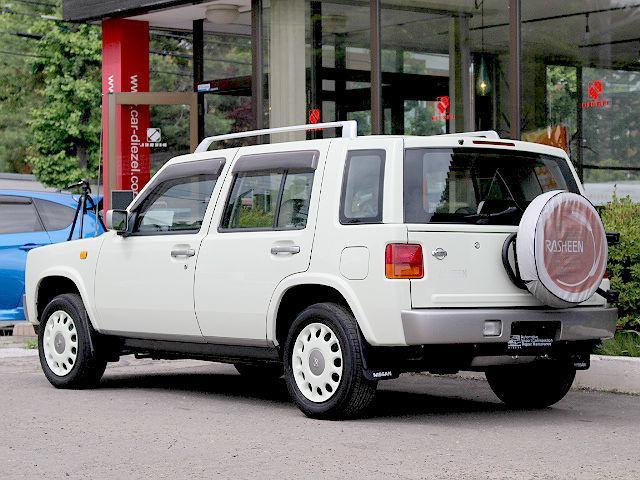 タイプII 4WD AT 背面タイヤ ルーフレール 本州仕入(6枚目)