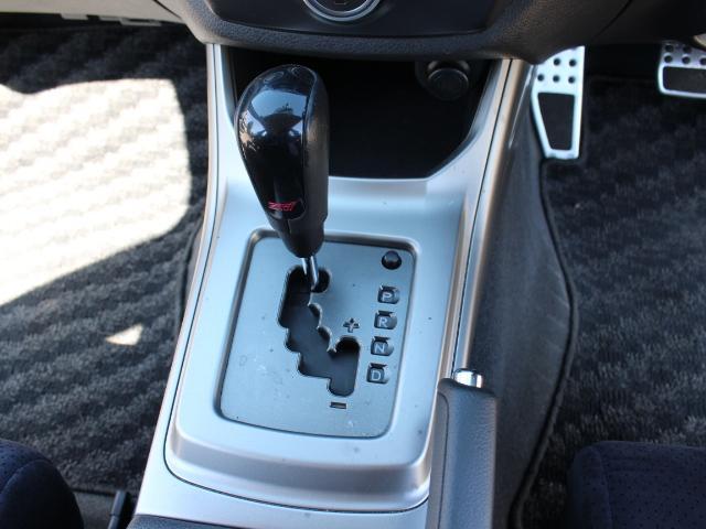 S-GT スポーツパッケージ 4WDターボ STIレカロシート2脚 STIリップ GPスポーツEXASマフラー ローダウン 新品17インチAW HDDナビ フルセグTV バックカメラ USB・iPhone接続 HID キーレス(22枚目)
