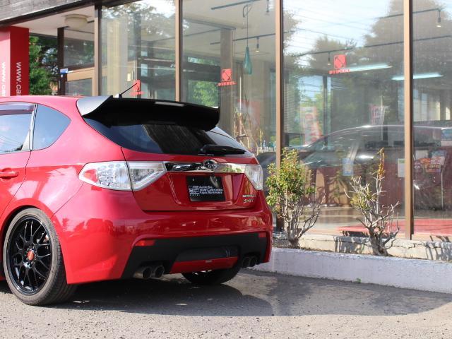 S-GT スポーツパッケージ 4WDターボ BLITZ車高調 鍛造BBS18AW ALBEROリアバンパー STI用マフラー タンレザーハーフレザーシート エンジンスターター スロットルコントローラー ナビTV Bカメラ 本州仕入(14枚目)