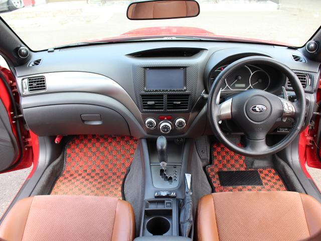 S-GT スポーツパッケージ 4WDターボ BLITZ車高調 鍛造BBS18AW ALBEROリアバンパー STI用マフラー タンレザーハーフレザーシート エンジンスターター スロットルコントローラー ナビTV Bカメラ 本州仕入(16枚目)