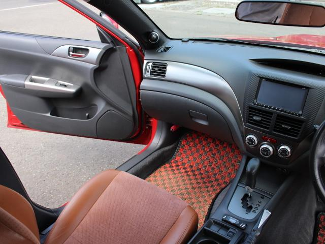 S-GT スポーツパッケージ 4WDターボ BLITZ車高調 鍛造BBS18AW ALBEROリアバンパー STI用マフラー タンレザーハーフレザーシート エンジンスターター スロットルコントローラー ナビTV Bカメラ 本州仕入(18枚目)
