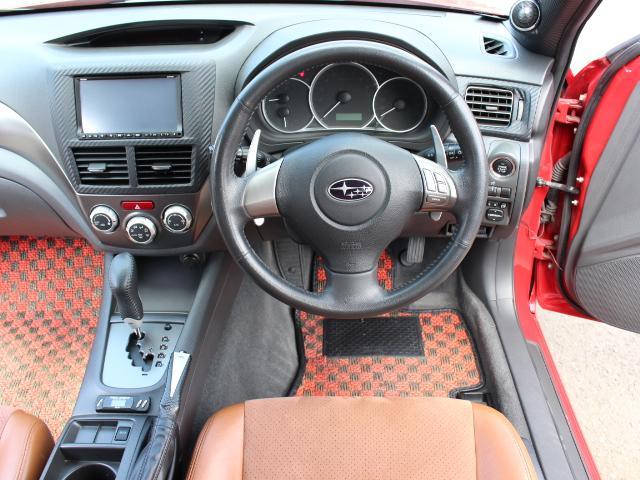 S-GT スポーツパッケージ 4WDターボ BLITZ車高調 鍛造BBS18AW ALBEROリアバンパー STI用マフラー タンレザーハーフレザーシート エンジンスターター スロットルコントローラー ナビTV Bカメラ 本州仕入(19枚目)