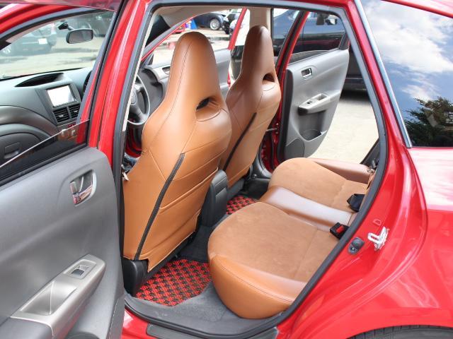 S-GT スポーツパッケージ 4WDターボ BLITZ車高調 鍛造BBS18AW ALBEROリアバンパー STI用マフラー タンレザーハーフレザーシート エンジンスターター スロットルコントローラー ナビTV Bカメラ 本州仕入(36枚目)