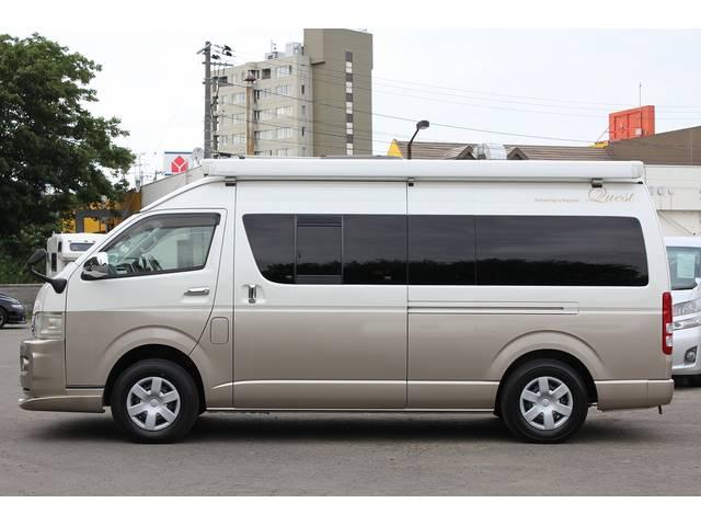 トヨタ ハイエースバン キャンピング バンコン バンテック新潟 クエスト 4WD