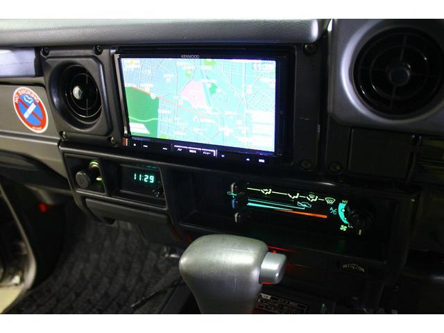 トヨタ ランドクルーザー70 ZX FRPトップ SDナビ 地デジチューナー