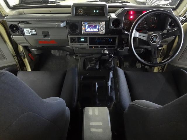 トヨタ ランドクルーザー70 ZX FRPトップ 4No登録 デフロック
