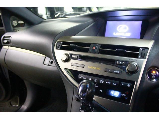 レクサス RX RX450h Fスポーツ LEDライト 黒革 純正19AW