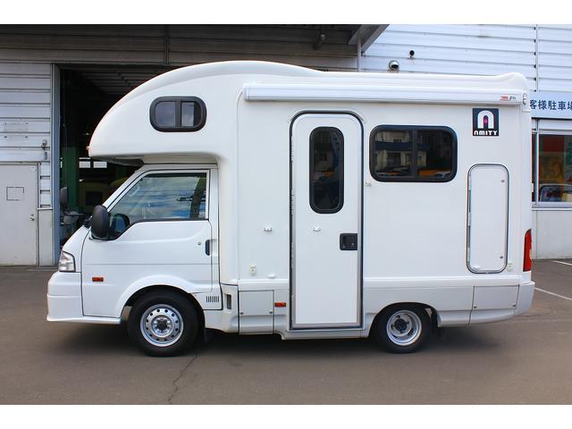 マツダ ボンゴトラック AtoZアミティ 4WD ワンオーナー 常設二段ベッド
