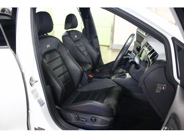 フォルクスワーゲン VW ゴルフR R 4WD ターボ 本革 シートヒーター 純正HDDナビ