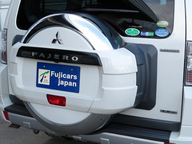 三菱 パジェロ ロング スーパーエクシード 本革 切替4WD デフロック