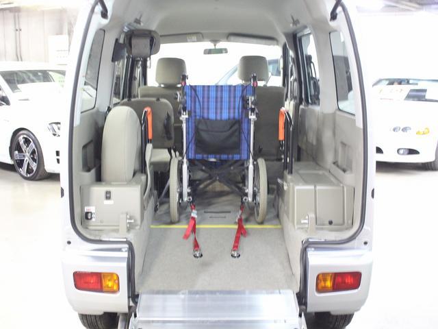 福祉車両 リアスロープ 車椅子一基 電動ウィンチ(9枚目)