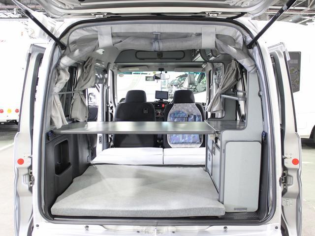 キャンピングカー 軽キャンパー バモスホビオ マイボックス ポップアップ 4WD エバスFFヒーター フィアマサイドオーニング サブバッテリー 走行充電 外部電源 網戸3面 走行用リアヒーター(5枚目)