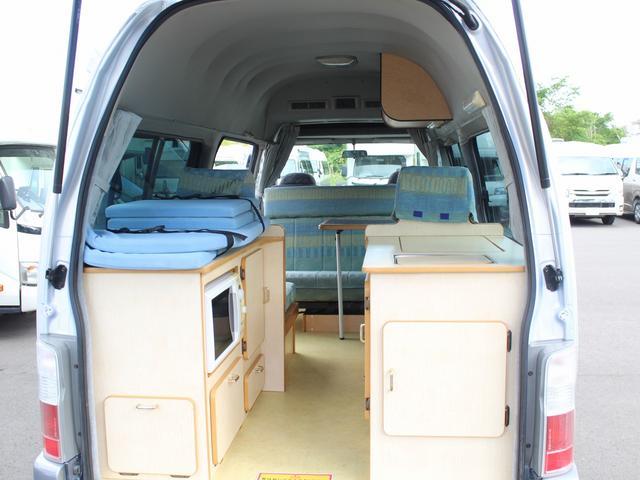 NOX適合 切替4WD FFヒーター 1500Wインバーター ポータブル冷蔵庫 ツインサブ 走行充電 外部電源充電 サイドオーニング シンク 給排水ポリタンク 走行用リアクーラー 走行用リアヒーター(3枚目)