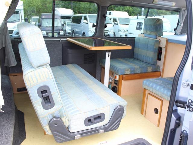 NOX適合 切替4WD FFヒーター 1500Wインバーター ポータブル冷蔵庫 ツインサブ 走行充電 外部電源充電 サイドオーニング シンク 給排水ポリタンク 走行用リアクーラー 走行用リアヒーター(5枚目)