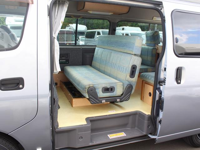 NOX適合 切替4WD FFヒーター 1500Wインバーター ポータブル冷蔵庫 ツインサブ 走行充電 外部電源充電 サイドオーニング シンク 給排水ポリタンク 走行用リアクーラー 走行用リアヒーター(6枚目)